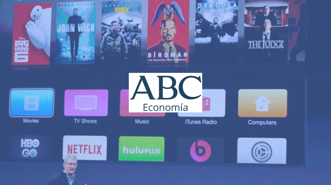 noticia distribución streaming ABC economía